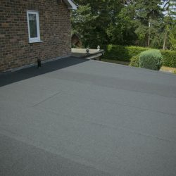 New felt roof ADN roofing