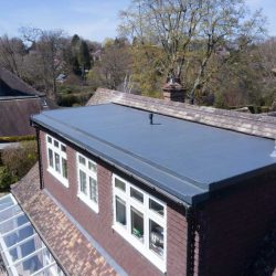 ADN Roofing flat roof install Forest Row